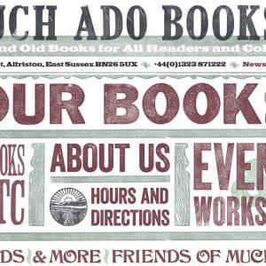 much ado books logo