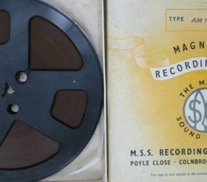 Magnetic Tape Box